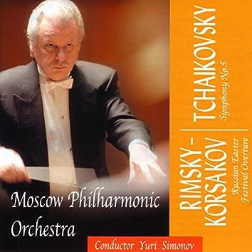 Rimsky-Korsakov / Tchaikovsky: Russian Easter Festival Overture / Symphony No.5