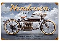 なまけ者雑貨屋 Henderson Clouds ブリキ 看板 レトロ アメリカン 雑貨 ヴィンテージ風