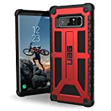 UAG Samsung Note 8 Monarch Feather-Light Rugged [CRIMSON] Military Drop Tested Phone Case