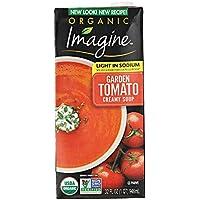 Imagine Organic Light Sodium Garden Creamy Tomato Soup 32 Oz
