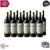 Château Noblet Rouge 2014 - Appellation AOC Côtes de Bourg - Vin Rouge de Bordeaux - Cépages Merlot, Cabernet Sauvignon - Lot de 12x75cl - Médaille d'Or Concours de Bordeaux