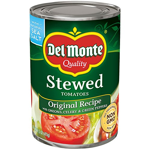 Del Monte Original Recipe, Canned Stewed Tomatoes, 14.5 Ounce (Pack of 12)