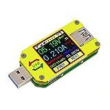 DollaTek UM34C Medidor de Voltaje USB Corriente de Voltaje Bluetooth Batería Cargador de energía Voltímetro Amperímetro Multímetro Probador