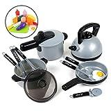 BeebeeRun Küchen Spielzeug, Topf-Set für die Kinderküche, Kochset Spielzeug 3 Jahren mädchen Junge 4 Jahre 5 Jahre