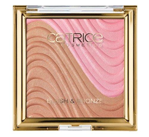 Catrice Cosmetics Sound of silence Nr. C01 Desert Flower Inhalt: 9,95g Puderrouge + Bronzer für einen natürlich strahlenden Teint. Rouge Blush & Bronzer
