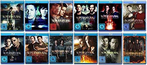Supernatural Staffel 1-12 (1+2+3+4+5+6+7+8+9+10+11+12) [Blu-ray Set]