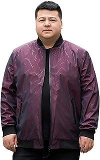 (ワンース) Wansi ジャケット メンズ スタンドカラー スタジャン風 ブルゾン ファスナーポケット ウインドブレーカー 大きいサイズ