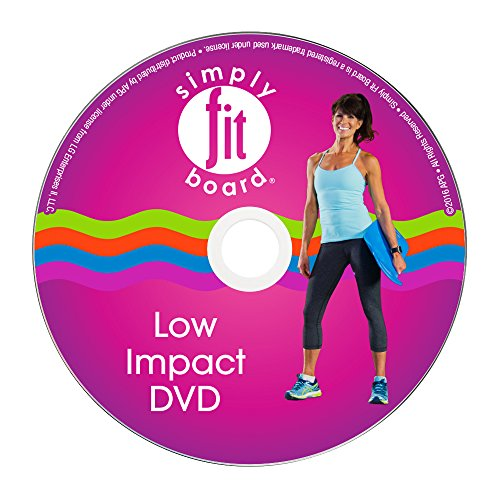Simply Fit Board - Low Impact Workout Kit, 6 Workouts That are Great for Seniors & Those Just Getting Started