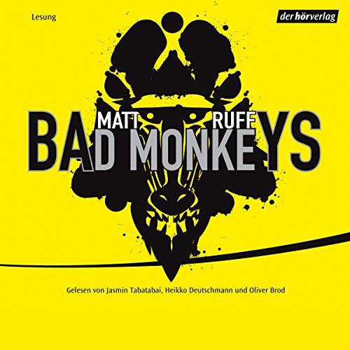 Bad Monkeys  By  cover art