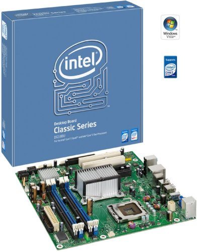 Intel Desktop Board DG33BU - Placa Base (Intel, LGA 775 (Socket T), Intel® Celeron®, Intel® Pentium® de Doble núcleo, 95 W, 8 GB, DDR2-SDRAM)