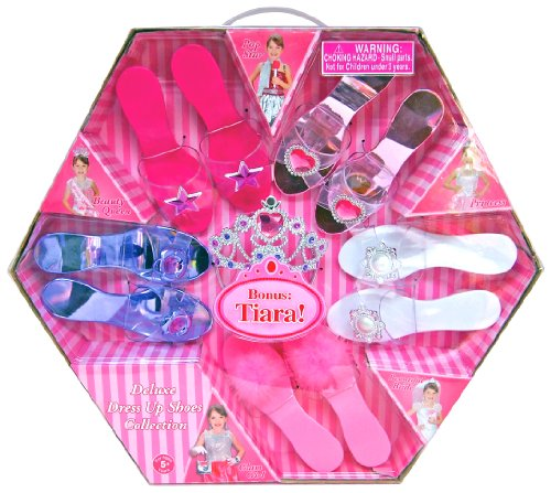 What Kids Want Deluxe Dress Up Shoes Collection