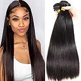 Brazilian Straight Hair Bundles 100% Straight Human Hair Bundles 20 22 24 Inch 9A Unprocessed Virgin Weave Hair Human Bundles Straight Hair