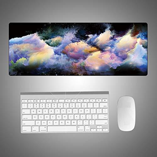 Alfombrilla de Ratón 400 * 800 * 3Mm Multi-Size Rubber Rectangular Laptop...