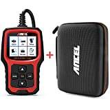 ANCEL AD410 OBD II Vehicle Check Engine Light Automotive Code Reader with ANCEL Protective Case Storage Bag