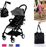 Flykids Travel Easy Lightweight Pram Buggy Travel Pushchair Stroller Carry Bag eith Rain