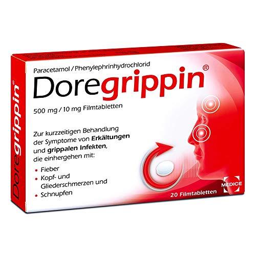 Doregrippin Filmtabletten, 20 St. Tabletten