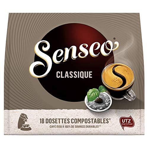 Senseo Café 180 Dosettes Classique (lot de 10 x 18)
