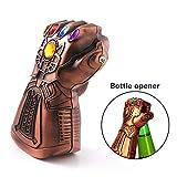 Bierflaschenöffner – Motiv: Thanos' Handschuh –Marvel The Avengers 4 Flaschenöffner, ideales...