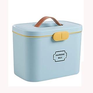 AZHOM Caja de medicina del hogar Caja de medicina for niños Caja de almacenamiento de medicamentos