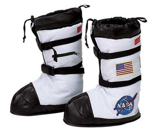 Aeromax Astronaut Boots, Size Small (accesorio de disfraz)
