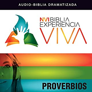 Experiencia Viva: Proverbios [NVI The Bible Experience Alive: Proverbs] audiobook cover art