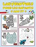 Labyrinthes pour les enfants, 4 ans et +: livre de puzzles et activités pour les enfants | Jeux, casse-tête et résolution de problèmes | Idéal pour ... 4 ans (Grand Livre de Jeux Labyrinthe) vol 2.