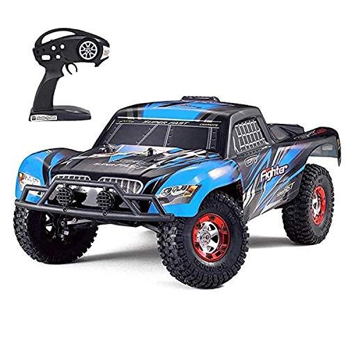 Tecesy RC Cars, escala 1/12, 4WD, controle remoto off-road de alta velocidade 25Mph RC Truck/Monster Truck, melhor brinquedo de carrinho RC para adultos - azul