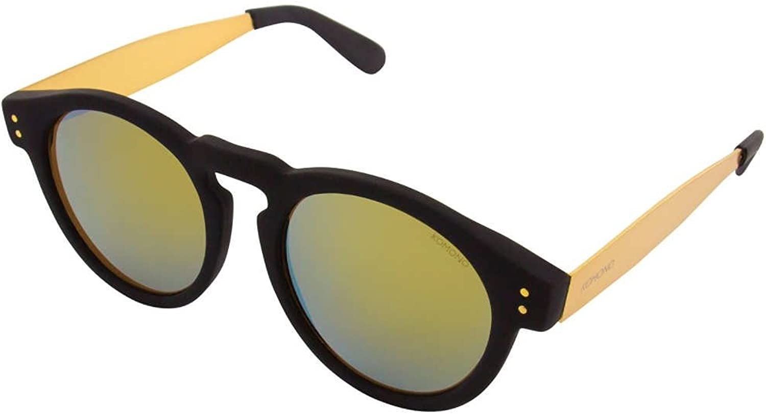 Komono Clement Metal Series Sunglasses   Black gold KOMS1672