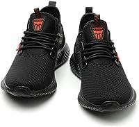 [Emostya] 安全靴 作業靴 スニーカー メンズ シューズ 通気性 耐油耐滑 鋼先芯 衝撃吸収 男女兼用23-29cm