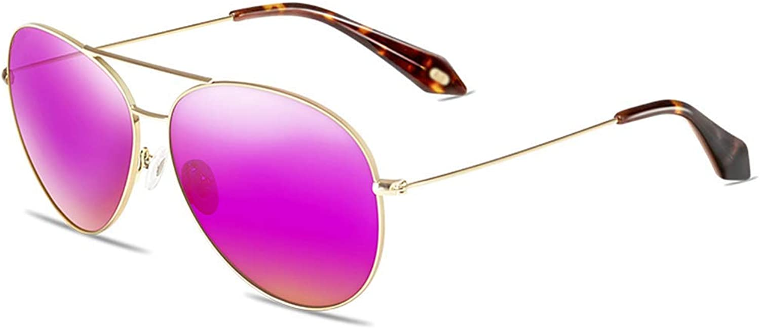 Xiao Mi Guo Ji Sunglasses  Polarized, UVResistant, Round Frame, Tide Mirror, Ladies Driving Shopping Street Shooting, Outdoor Activities, 4 colors to Choose from Polarized Glasses