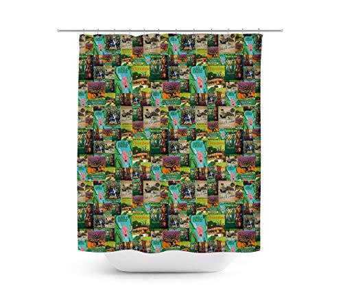 Queen of Cases Adventureland - Duschvorhang in 4 Größen