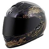 ScorpionExo EXO-T510 Unisex-Adult Full-Face-Style Azalea Helmet (White/Silver, X-Large)