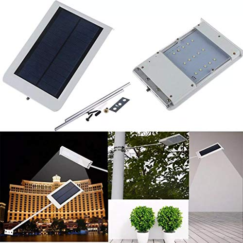 No-Branded Wufajinwu 15 LED Solar Ultra Fina de la Pared de luz del Sensor de la Calle al Aire Libre Impermeable de la luz del jardín de la lámpara LED