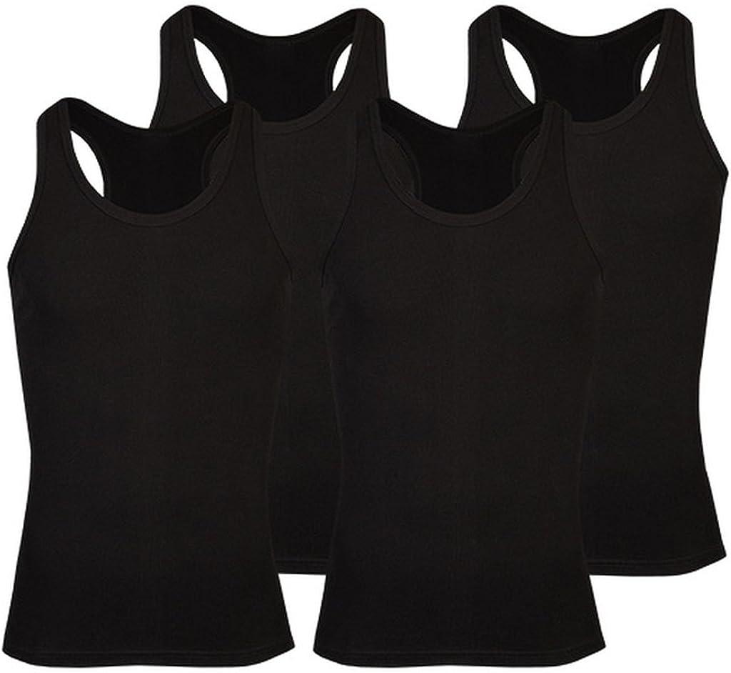 Lot de 4 maillots de corps classiques pour homme