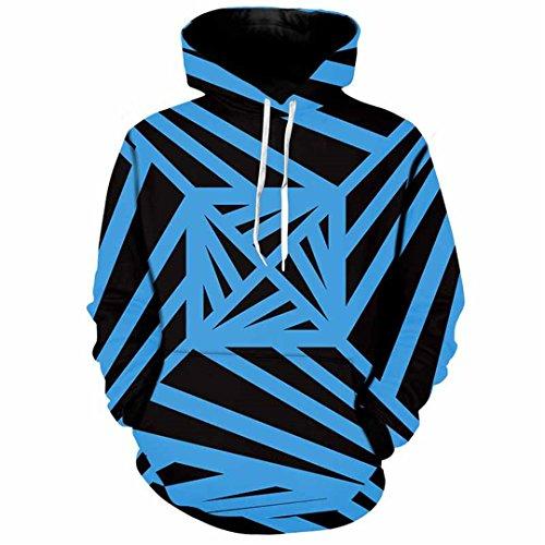 XLMFR Hommes Hoodies 3D Impression 3D Stripes Streetwear Sweatshirt à Capuche Harajuku décontracté Mince Simple Tops Grande Taille 5XL 01 m