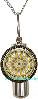 Blue Moon Celtic Triquetra Jewelry Keychain Key Ring Photo Keychain Charm Celtic Knot Jewelry,Celtic Keychain,Wedding Jewelry-JP193