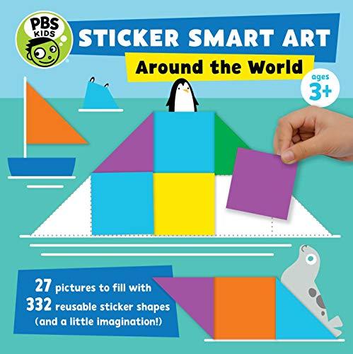 Sticker Smart Art: Around the World (PBS Kids)