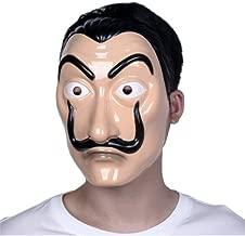 Unisex dali mask Realistic Movie Prop Face Mask Money Heist mask