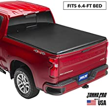 Tonno Pro Tonno Fold, Soft Folding Truck Bed Tonneau Cover | 42-200 | Fits 2009-18, 19/20 Classic Dodge Ram 1500/2500/3500 6'4