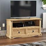 Amazon Brand - Movian Corona TV Cabinet, Flat Screen Stand Unit, Solid Pine Wood