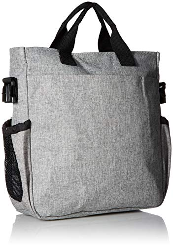 Skip Hop Duo Signature Tote Bag, Grey Melange