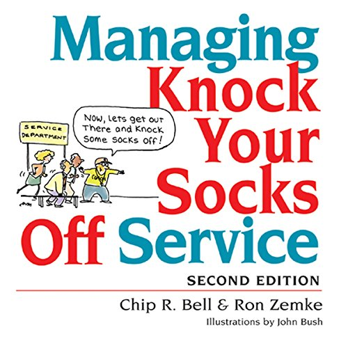 Managing Knock Your Socks Off Service audiobook cover art