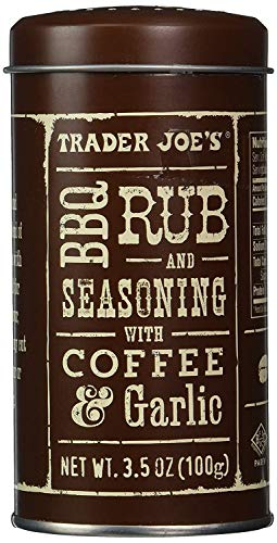 Trader Joe's BBQ Rub and Seasoning with Coffee & Garlic - PACK OF 4