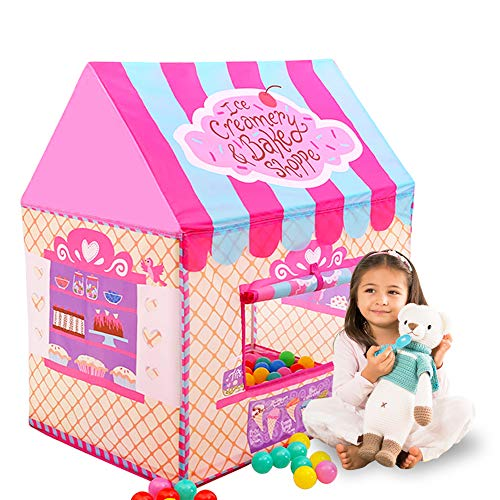 Happyhour Clubhouse Tents for Girls, Ice Cream Candy House Now $16