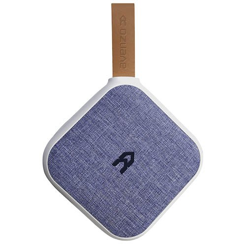 Avenzo AV647AZ - Altavoz Bluetooth NFC, Color Blanco y Azul Denim