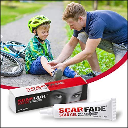 Scarfade Silicone Scar Gel for Scar Repair, Scar Treatment - 15g Tube