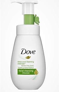 Dove Face Wash Deep Pure, 160 ml