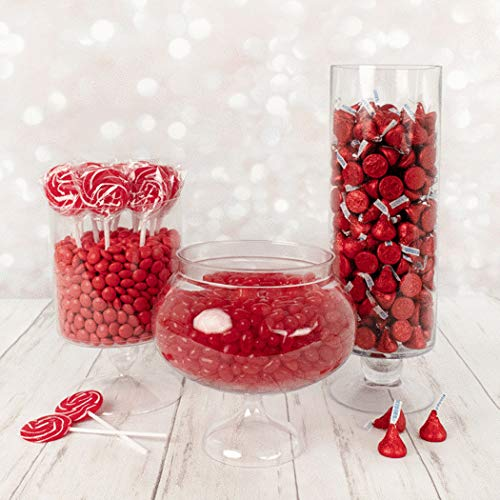Red Candy Buffet Supplies (Approx 14 lbs) Red Candy Table Supplies