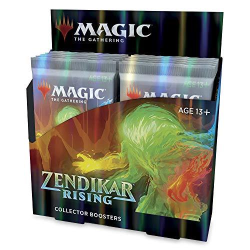 Magic: The Gathering Zendikar Rising Collector Booster Box | 12 Packs (180 Cards) + 2 Box Toppers | 132+ Foils | 48 Rares | 72 Alternate Frame Cards