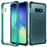 MoKo Compatible with Galaxy S10e Case, Crystal Clear Case